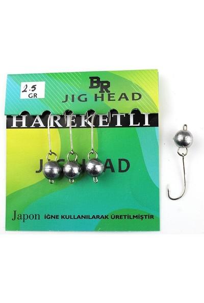 Bera Jig Head Hareketli 2,5 gr 4 Lü Paket