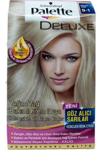 Palette Saç Boyası 9-1 Küllü Sarı