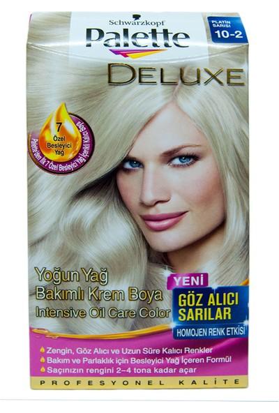 Palette Saç Boyası 10-2 Platin Sarısı