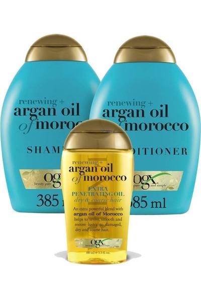Organix Argan Oil Of Morocco Şampuan Seti