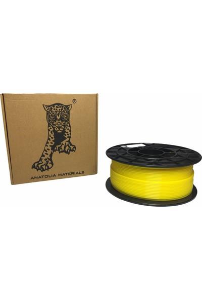 Anatolia Materials Pla Plus Filament 2.85MM 1kg Sarı