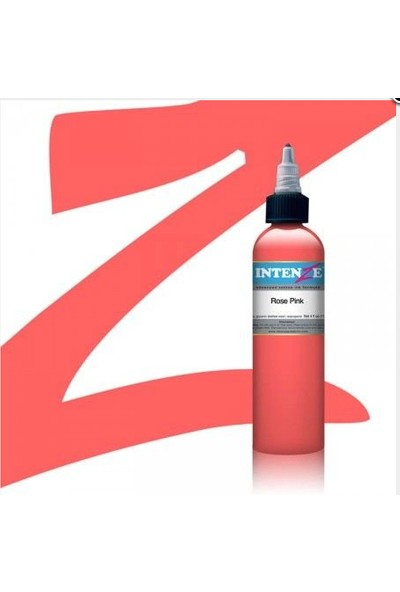 Intenze Rose Pink 1 Oz Dövme Boyası 30 Ml.