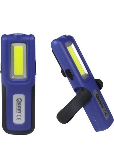 Arm ESEN109 Şarjlı LED Fener Mıknatıslı Lamba Powerbank 420 Lumen