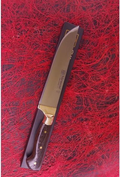 Sürmene Hakiki Sürmene Kasap Bıçağı 3 Lü Takım - Et Ekmek Sebze Meyve Bıçağı %100 El Işçiliği