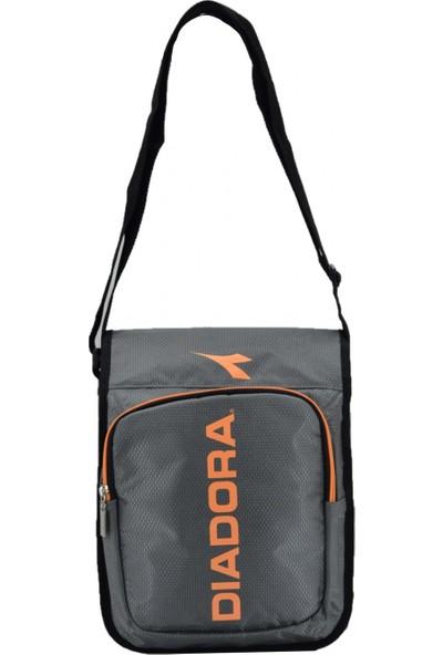 Diadora Omuz Askılı Spor Postacı Çanta Gri 30X23