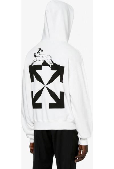 Off White Erkek Sweatshirt OMBB037R21FLE0090110