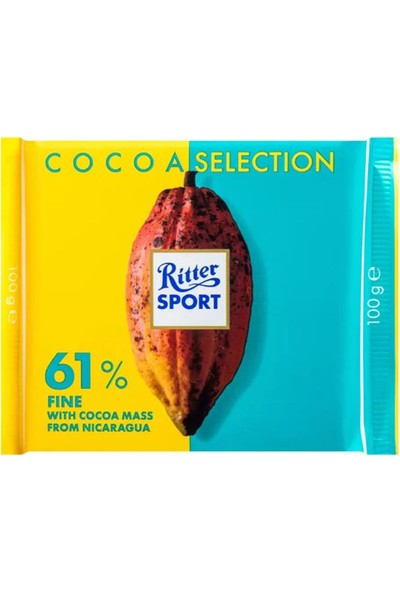 Ritter Cocoa Selection %61 100 G