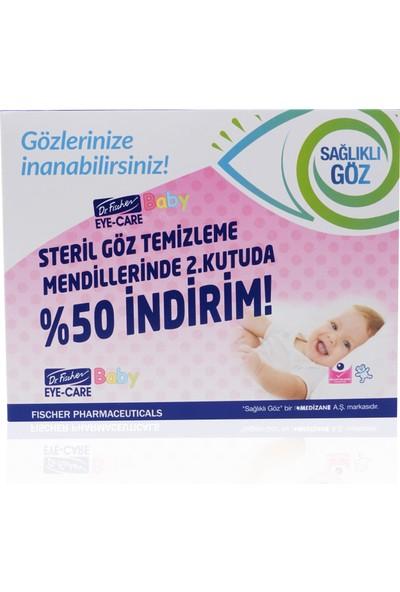 Dr.Fischer Eye-Care Bebek Steril Göz Temizleme Mendili - 2.si %50 İndirimli 2x30'lu Paket