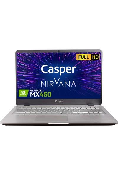 """Casper Nirvana S500.1135-BV50R-G-F Intel Core I5 1135G7 16GB 500GB SSD MX450 Windows 10 Pro 15.6"""" FHD Taşınabilir Bilgisayar"""