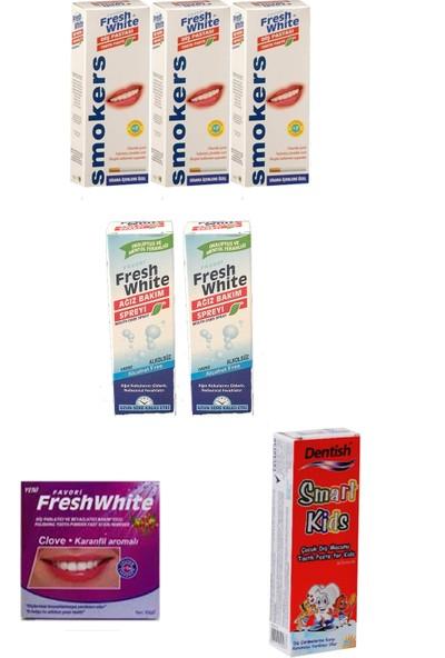 Fresh White Avantajlı Ağız ve Diş Sağlığı Paketi