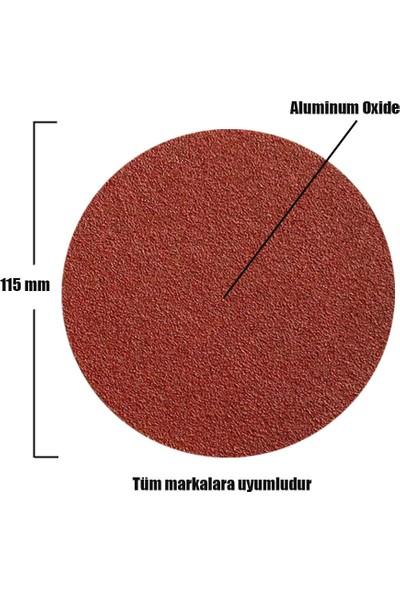 Badem10 Cırt Zımpara Spiral Avuç Taşlama 115 mm (50 Adet)