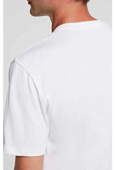 KARL LAGERFELD Ikonik Puffer Karl T-Shirt