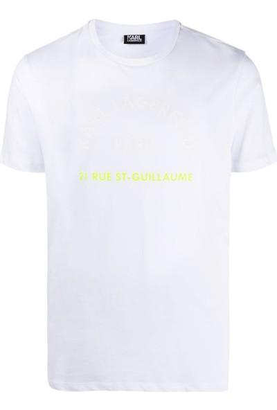 KARL LAGERFELD Adress Print T-Shirt