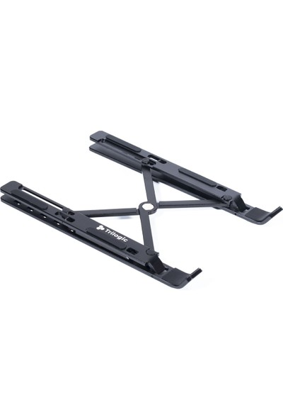Trilogic Stıll TS303 Siyah Ayarlanabilir Alüminyum Pc / Laptop Stand