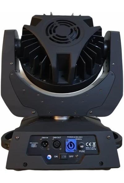 Lumina WASH108 Robot Işık Sistemi 108X3 Watt Rgbw Moving Head Wash Boyama
