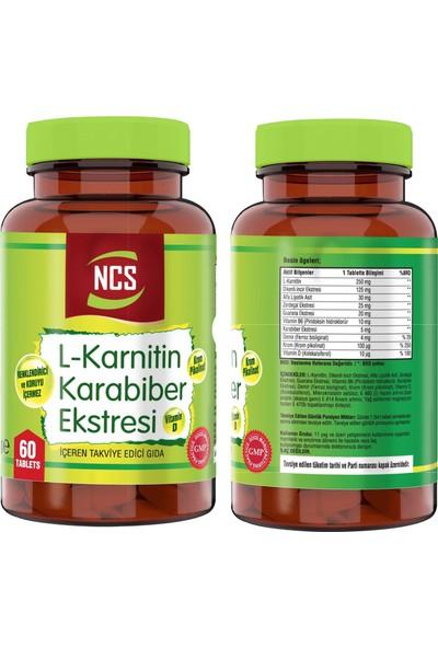 Nevfix Vitamin D3-K2 120 Tablet & L-Carnitine Karabiber Extreli 60 Tablet