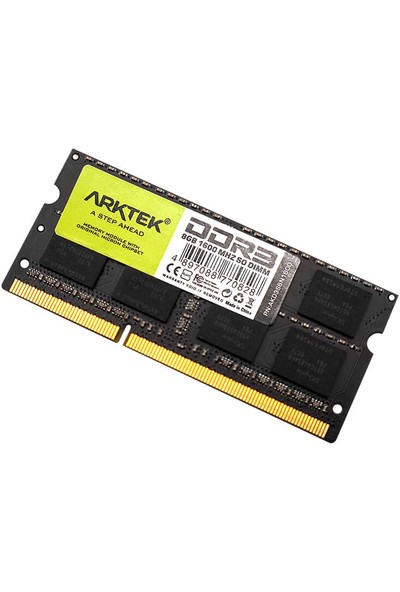 Arktek Ddr3 8gb 1600MHZ So Dımm Notebook Ram