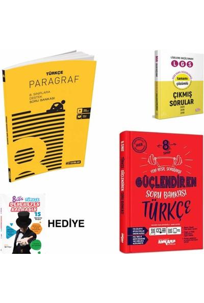 Hız Yayınları 8. Sınıf Lgs Hız . Paragraf- Ankara . Güçlendiren Türkçe Lgs- Çs