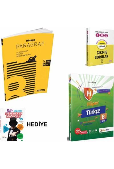 Hız Yayınları 8. Sınıf Lgs Hız . Paragraf- Hiperzeka . Türkçe Lgs- Soru Çs