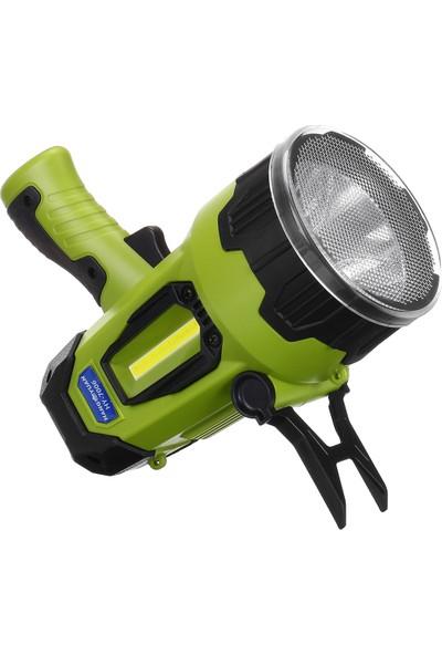 Kinsach 7 Vites LED Projektör Spot Işığı USB Şarj Edilebilir Çalışma Işığı Lambası (Yurt Dışı)