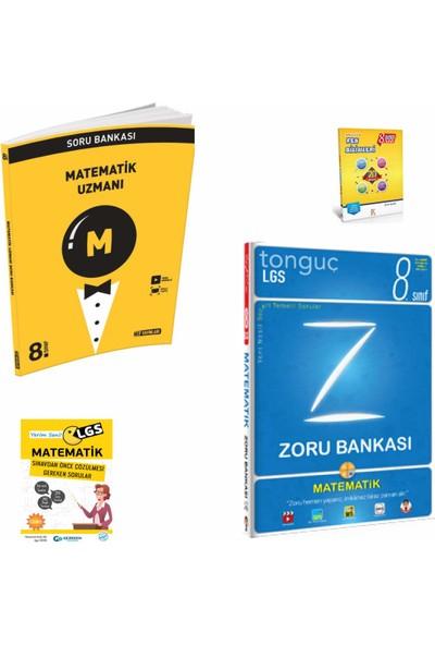 Hız Yayınları 8. Sınıf Hız Uzman Matematik Soru Bankası- Tonguç Zorubankası Matematik Soru Bankası- Yerimsenilgs ve Fen