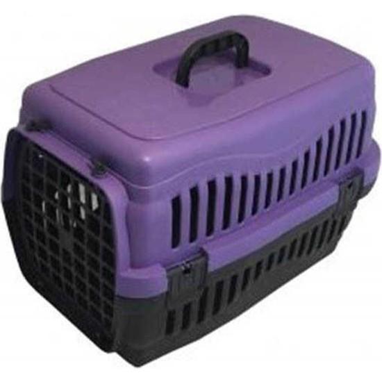 Apco Kedi - Köpek Taşıma Kafesi Pati Desenli (S)
