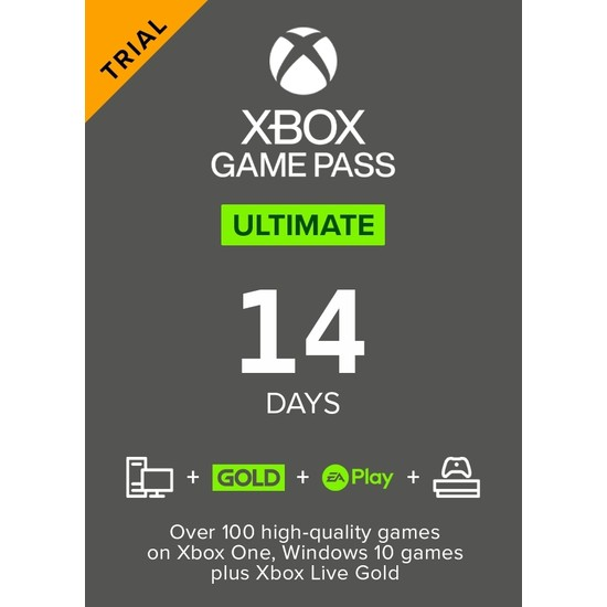 Xbox Game Pass Console Trial 14 Days (Global Code)