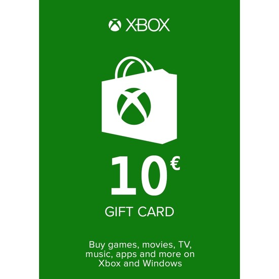 Xbox Live Gift Card 10 Eur (DE) Germany