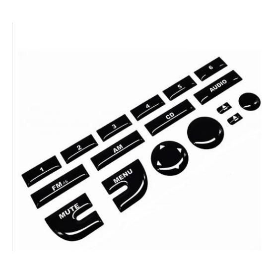 Duru Doruk Fiat Linea Teyp Tuş Takımı Parlak Siyah (Piano Black)