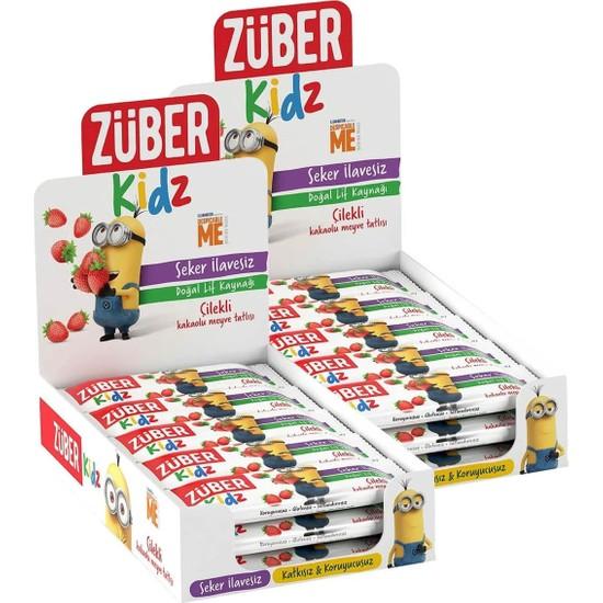 Züber Kidz Muzlu ve Kakaolu Meyve Tatlısı 32 x 30 gr 960 gr