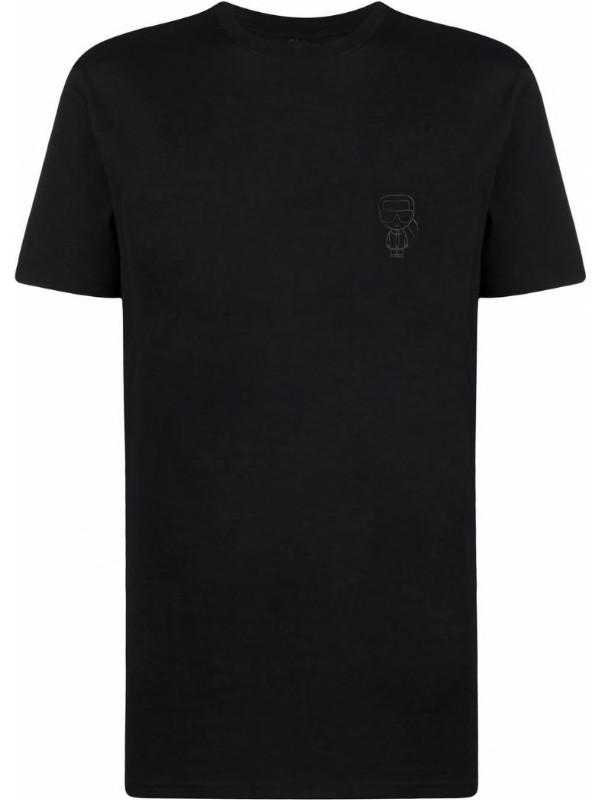 KARL LAGERFELD Karl Ikonik Basic Logo T-Shirt