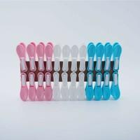 pobi Çamaşır Mandalı Iz Yapmaz Yaysız Plastik Mandal 24 Adet