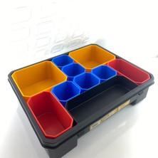 Probox CUBE-200 Organizer Takım Çantası Organizer Kutu 10 Bölmeli