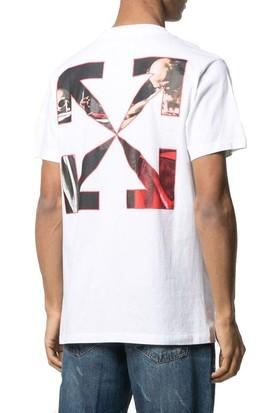 Off White T-Shirt Erkek OMAA027R21JER0040125