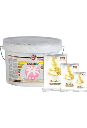 Fo Food Beyaz Şeker Hamuru 1 kg