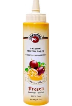 Fo Frozen Passion Fruit Çarkıfelek Aromalı Püre 1000GR