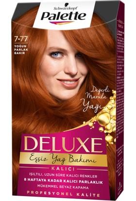Palette Deluxe 7-77 Yoğun Bakır Saç Boyası