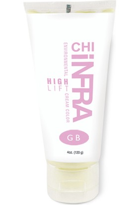 Chı Infra E.high Lift Cream Color Gb-Golden Blonde