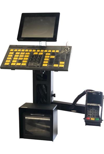 Techno Pole TPR601 Full Kasa Noktası Toparlayıcı Sistem Siyah