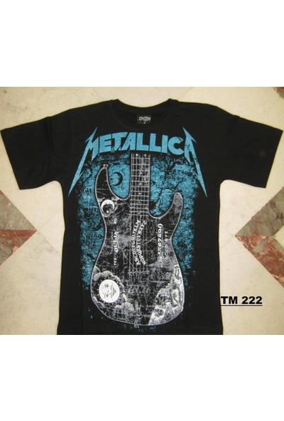 Orijin Metallica Tişört - Gitar