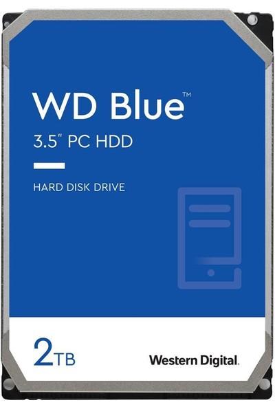 Wd Blue 3.5 Sata Iıı 6gb/s 256MB 2 Tb Hard Disk WD20EZBX