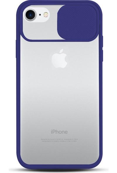 Zebana Apple Iphone 6 Plus Kılıf Kamera Lens Korumalı Kılıf Lacivert