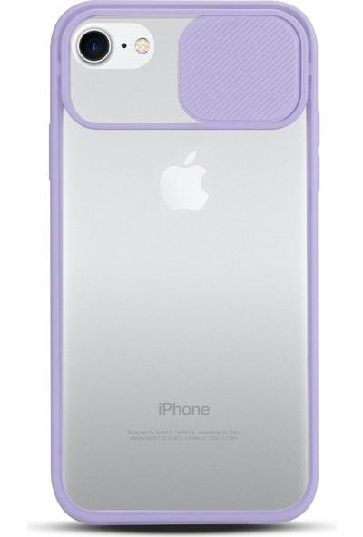 Zebana Apple Iphone 6 Plus Kılıf Kamera Lens Korumalı Kılıf Lila