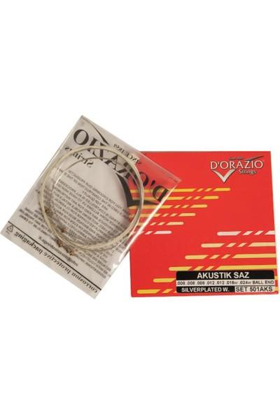 Dorazio 0,20 Uzun Sap Bağlama Saz Teli 501AKS