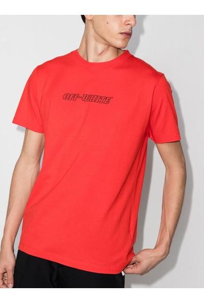 Off White T-Shirt Erkek OMAA027R21JER0112531