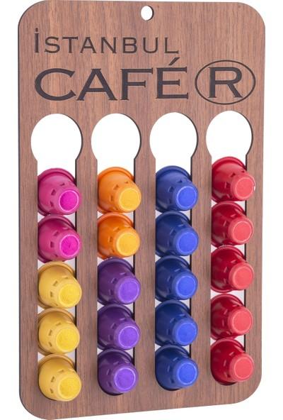 İstanbul Cafer Kahve Kapsülü 60'lı + Stand