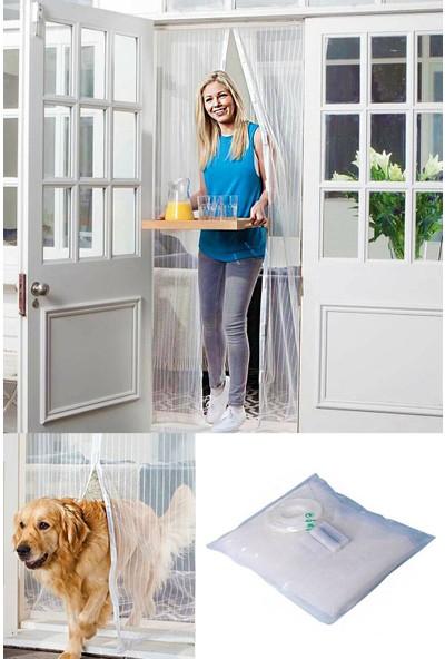 Mobee Fay-Tek Mıknatıslı Mutfak Balkon Dış Kapı Sinekliği 105X205 cm