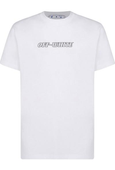 Off White T-Shirt Erkek OMAA027R21JER0041025