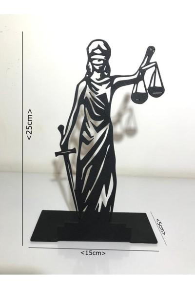 Vatmart Adalet Dekoratif Masaüstü Metal Ev Ofis Hediyelik