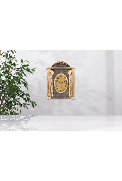 Yağmur Can Laleli Ferman Saat Altın Renk Biblo